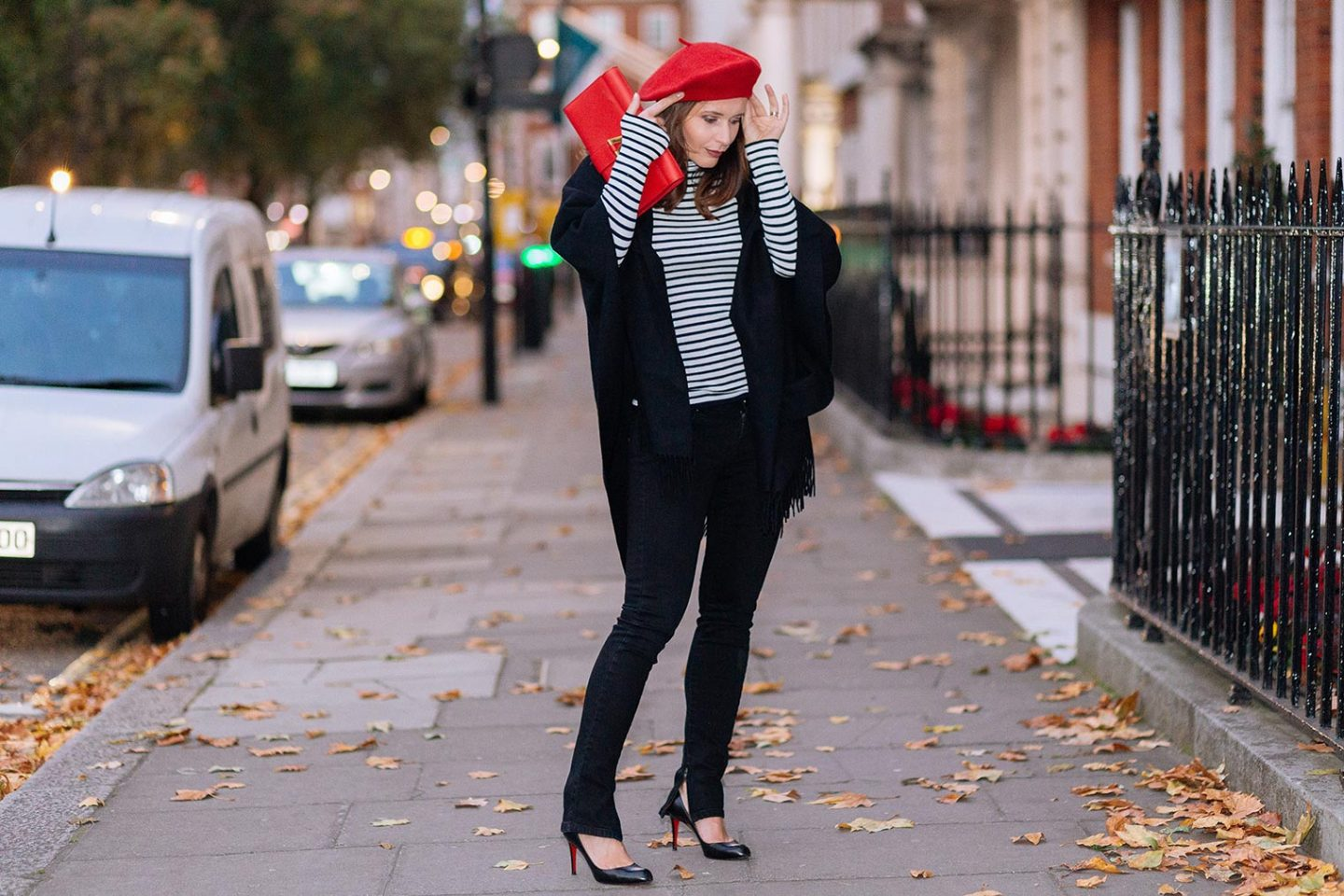 How to wear a beret and look Parisian chic this season