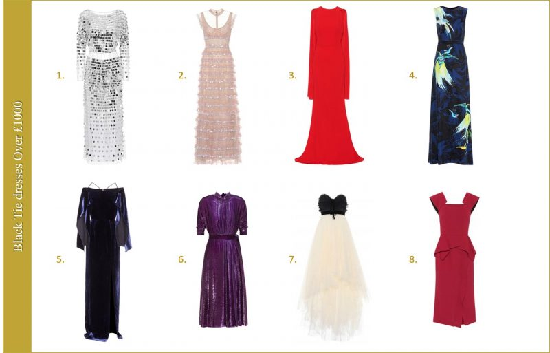 Best dresses for black tie event by Chic Journal blog