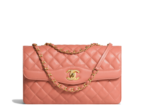 Chanel cruise collection 2018 flap bag pink
