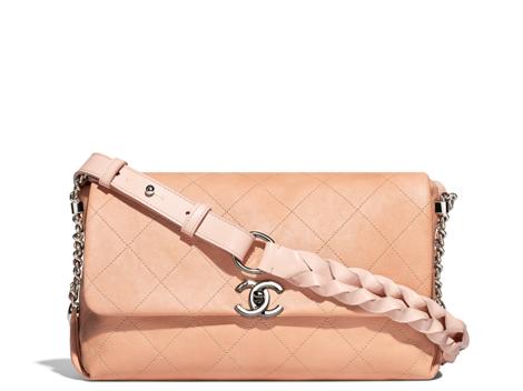 Chanel new collection flap handbag 2018