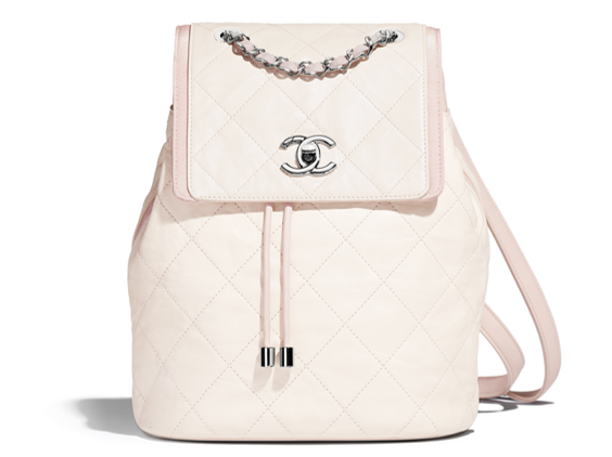 Chanel beige backpack summer collection 2018