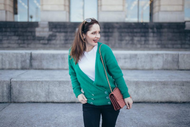 Best cardigan to wear from winter to spring