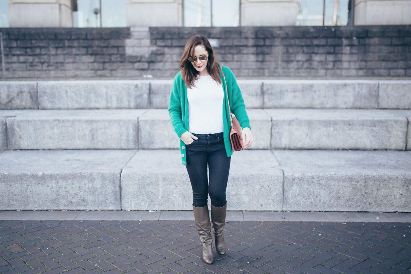 3 rules on how to wear green