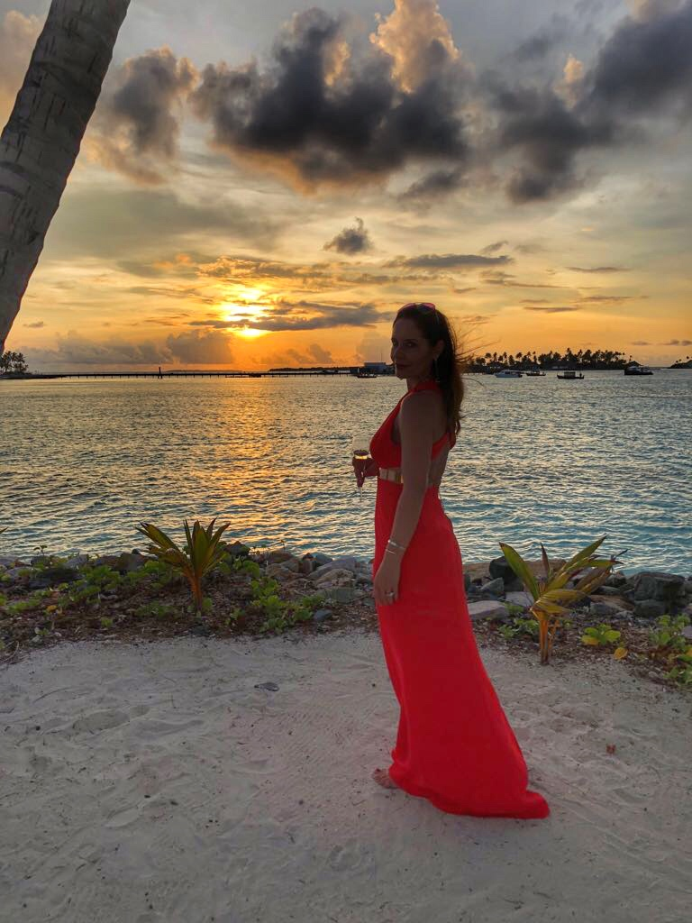 Petra Brisby from Chic Journal at Cheval Blanc Randheli Maldives