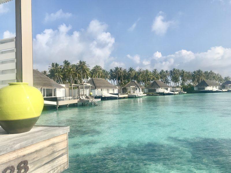Cheval Blanc Maldives water villas