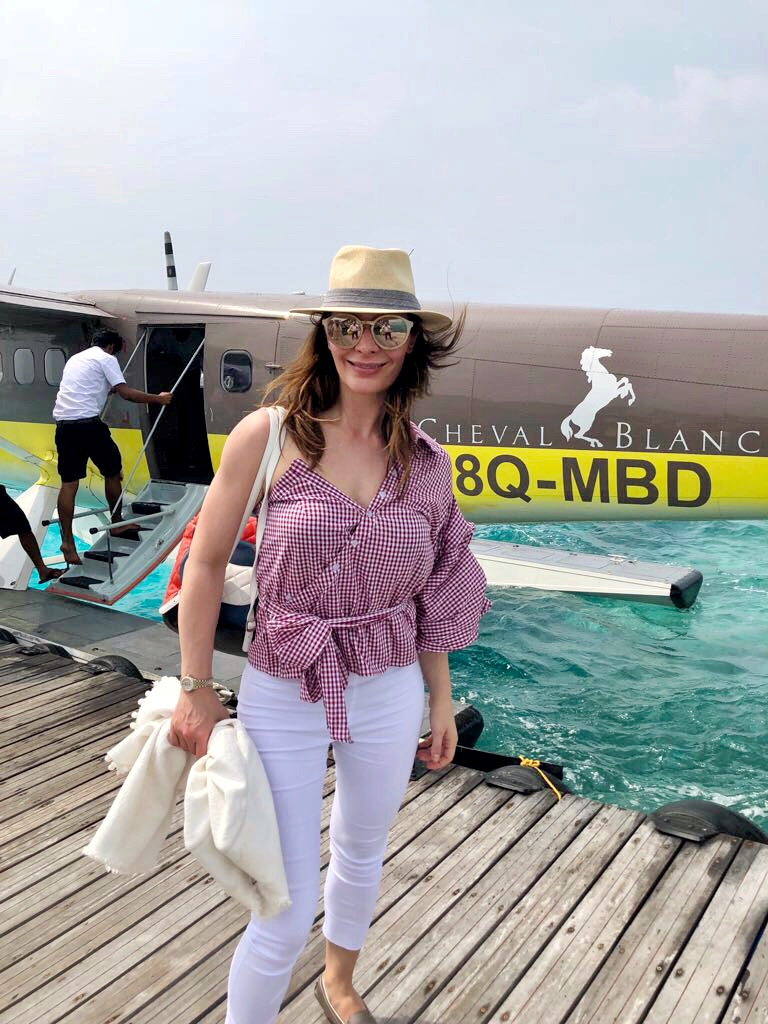 Chic Journal Petra Brisby in Cheval Blanc Maldives