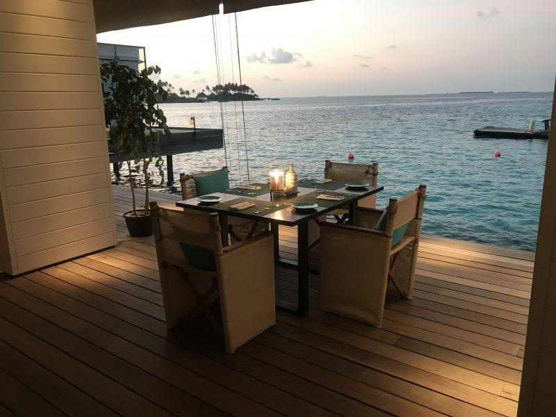 Cheval Blanc Maldives restaurant Deelani