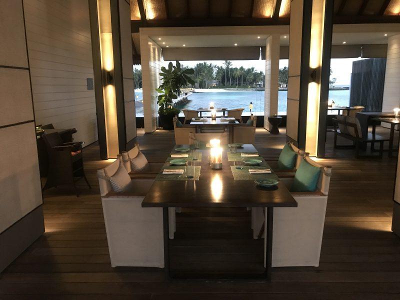Cheval Blanc Maldives restaurant Deelani interior