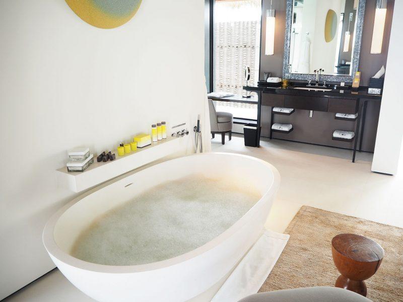 Cheval Blanc Randheli Maldives bathroom