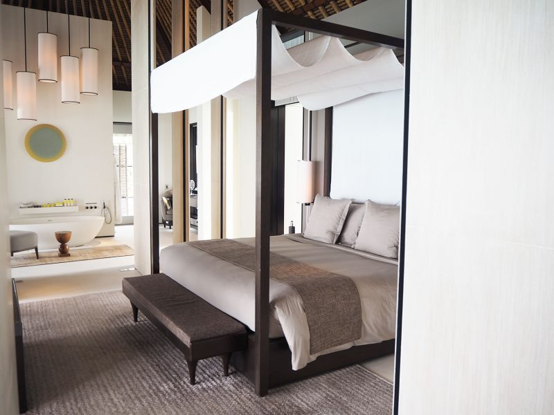 Cheval BLanc Randheli Maldives bedroom
