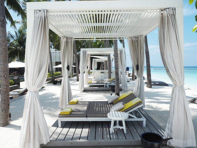 Cheval Blanc Randheli sun lounges