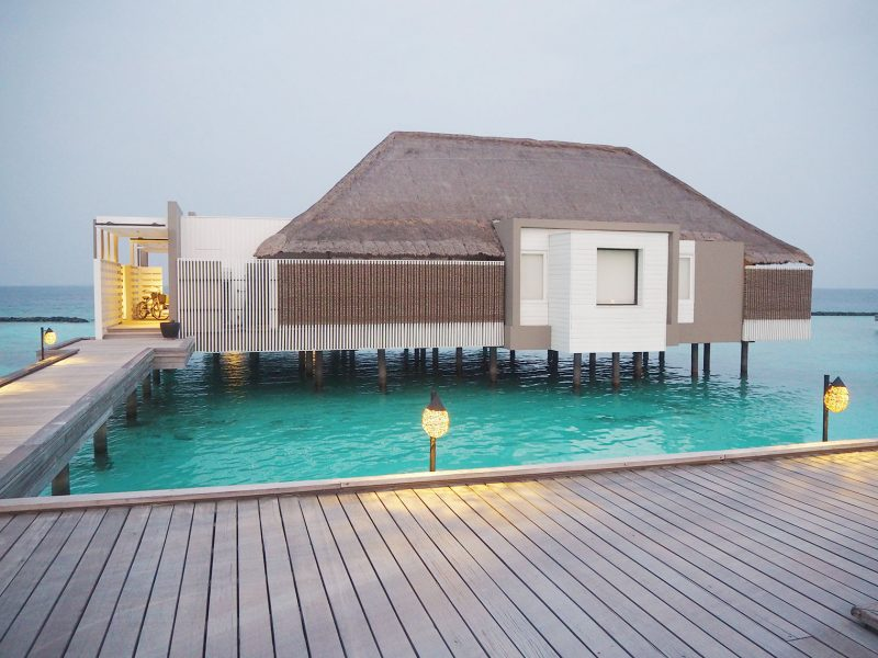 Cheval Blanc water villa Maldives