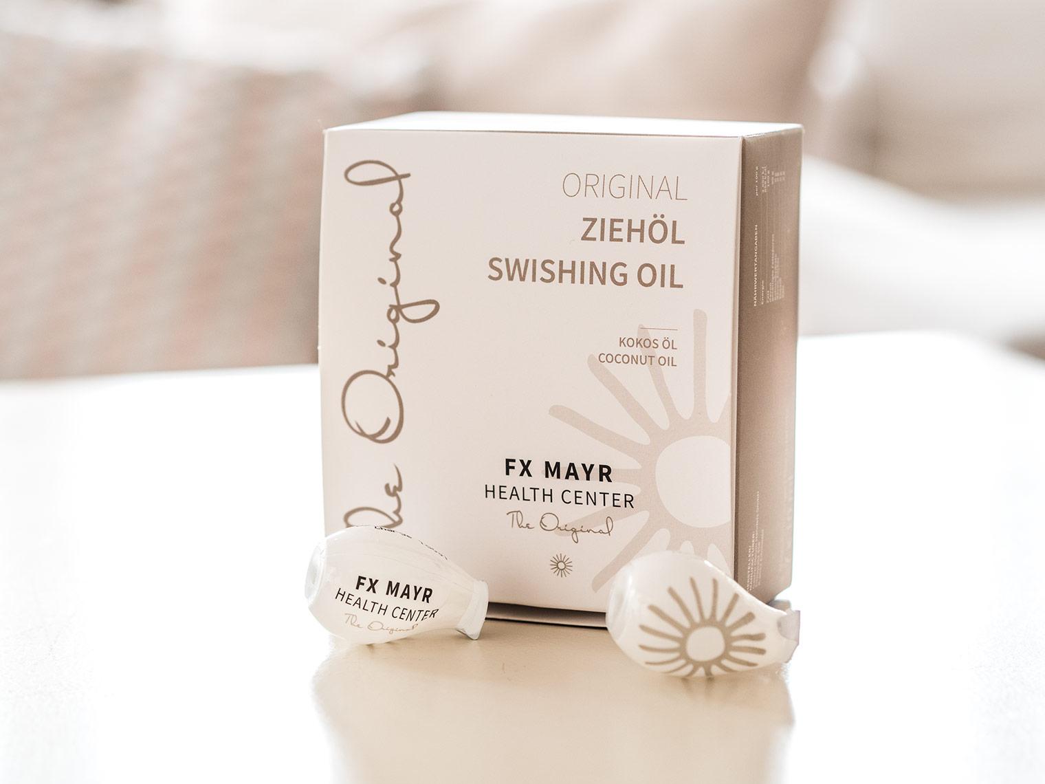 Coconut oil at FX Mayr detox clinic Austria