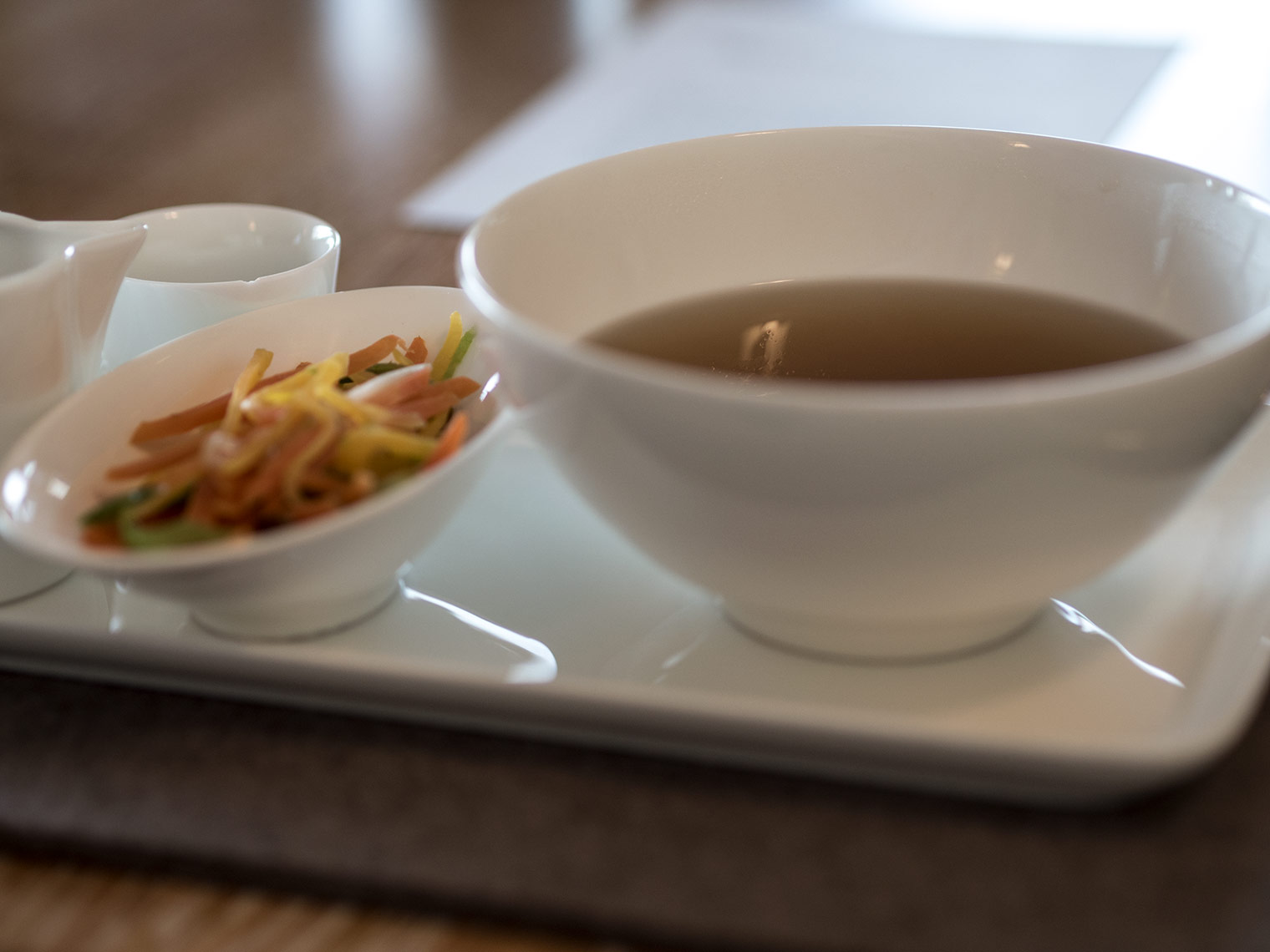 Vegetable broth at FX Mayr clinic in Austria. Review by Chic Journal