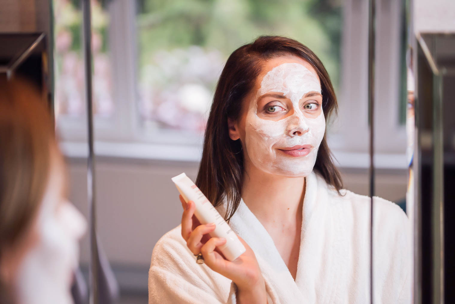 Sesderma firming mask application
