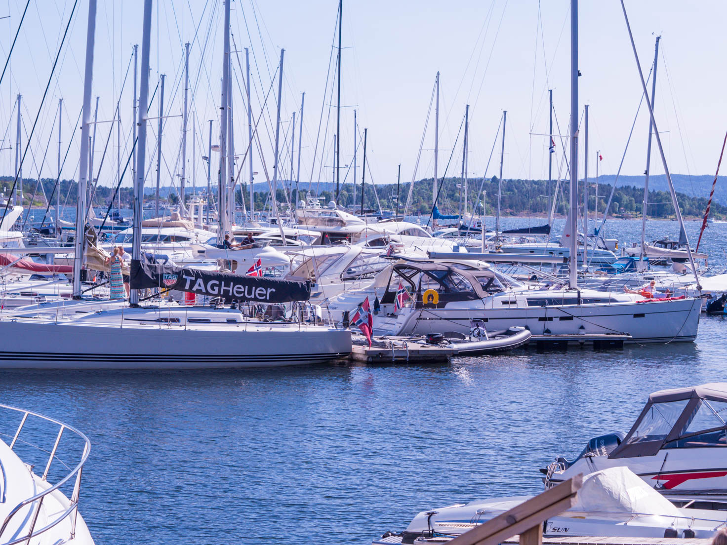 Visiting Marina in Oslo, Norway by Chic Journal blogger Petra