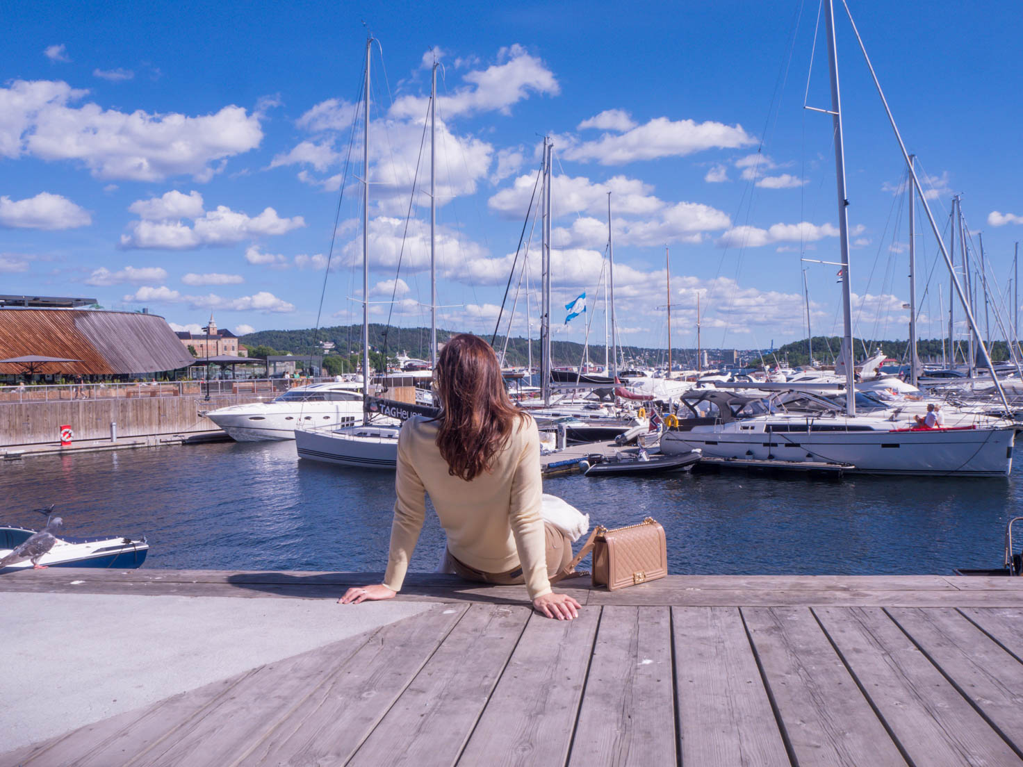 Petra from Chic Journal blog visiting Oslo, Norway