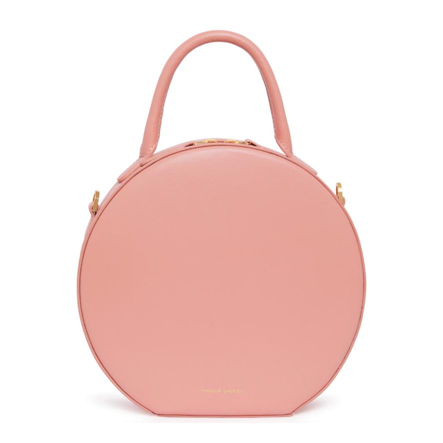 Mansur Gavriel round bag pink