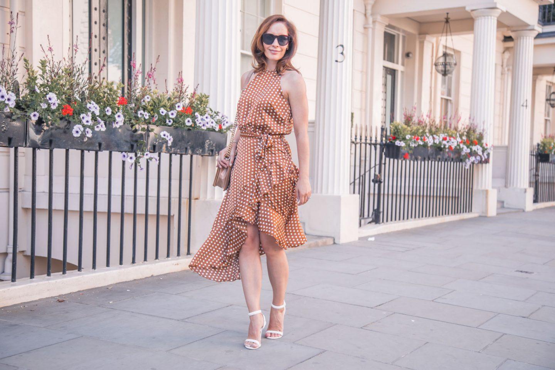 That Pretty Woman moment in a polka dot dress