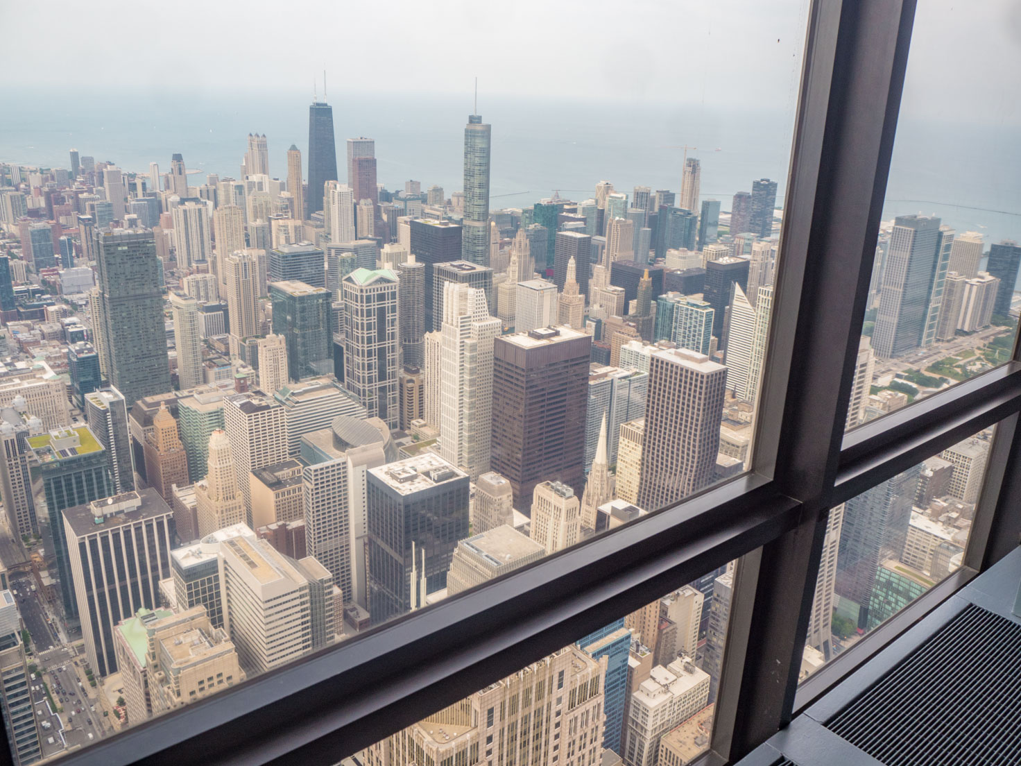 Chicago view from Willis Tower Skydeck by Chic Journal