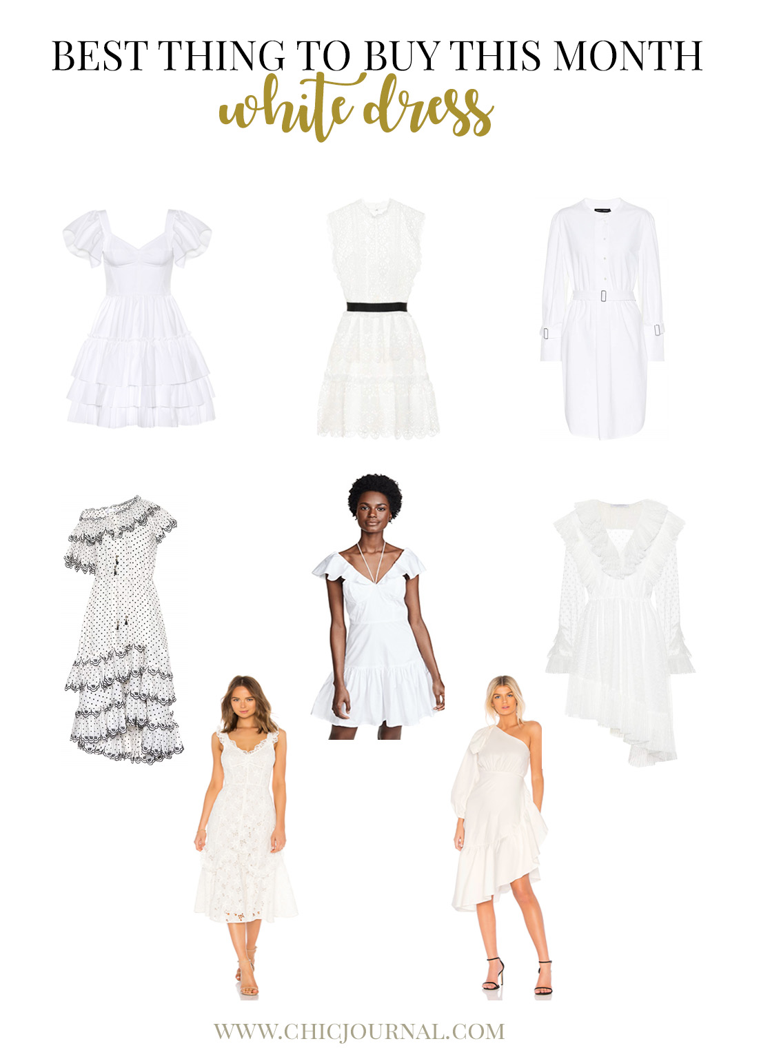 Best white dress to buy this summer