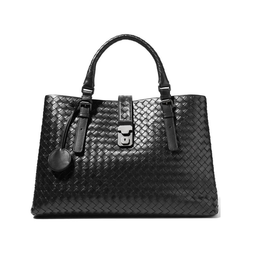 Best work bags Bottega Veneta Roma large intrecciato leather tote