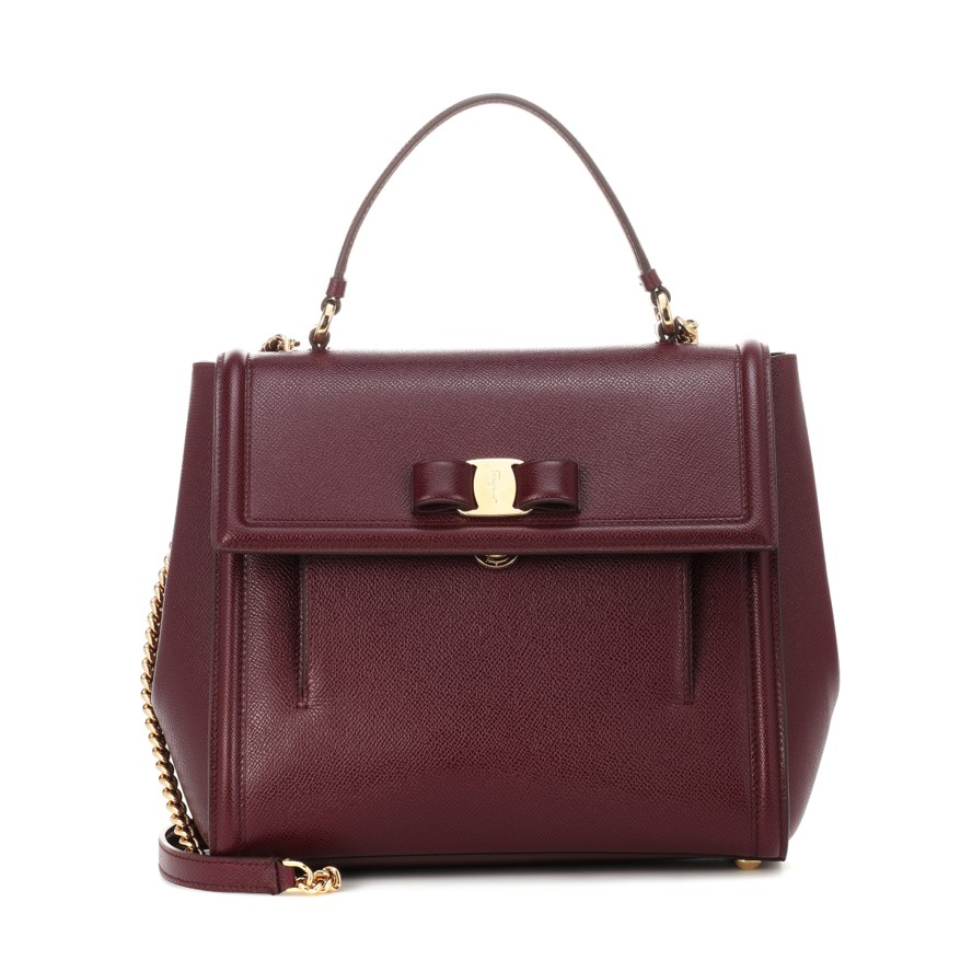 Best work bags Carrie leather shoulder bag
