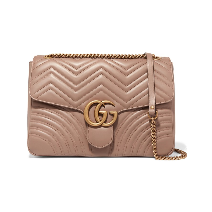 Best work bags GG Marmont large quilted leather shoulder bag