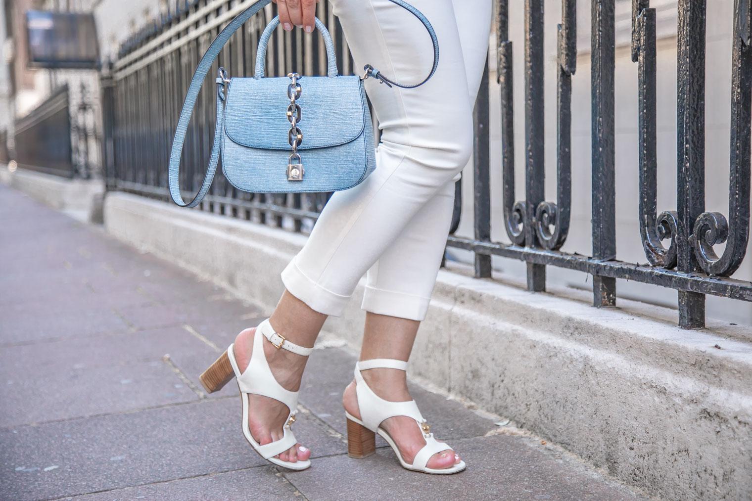 Loro Piana shoes, Prada trousers and Louis Vuitton bag