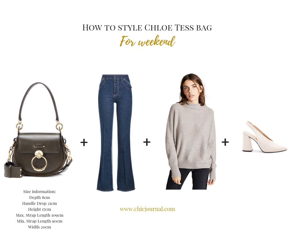 What to wear with Chloe Tess bag