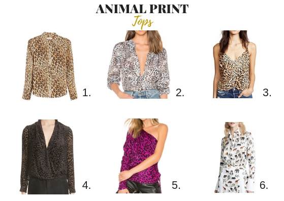 a011f020d208 Black is my favourite to match with a coat. Animal print top would look  good with jeans or any other pants. Just make sure you are having atop from  good ...