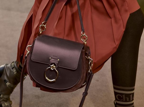 Introducing Chloe Tess as the new hot handbag for the fall