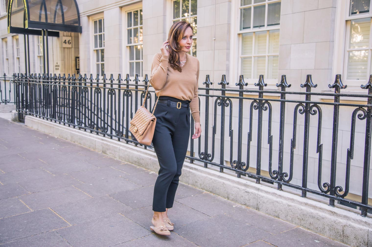 What to wear with paperbag trousers