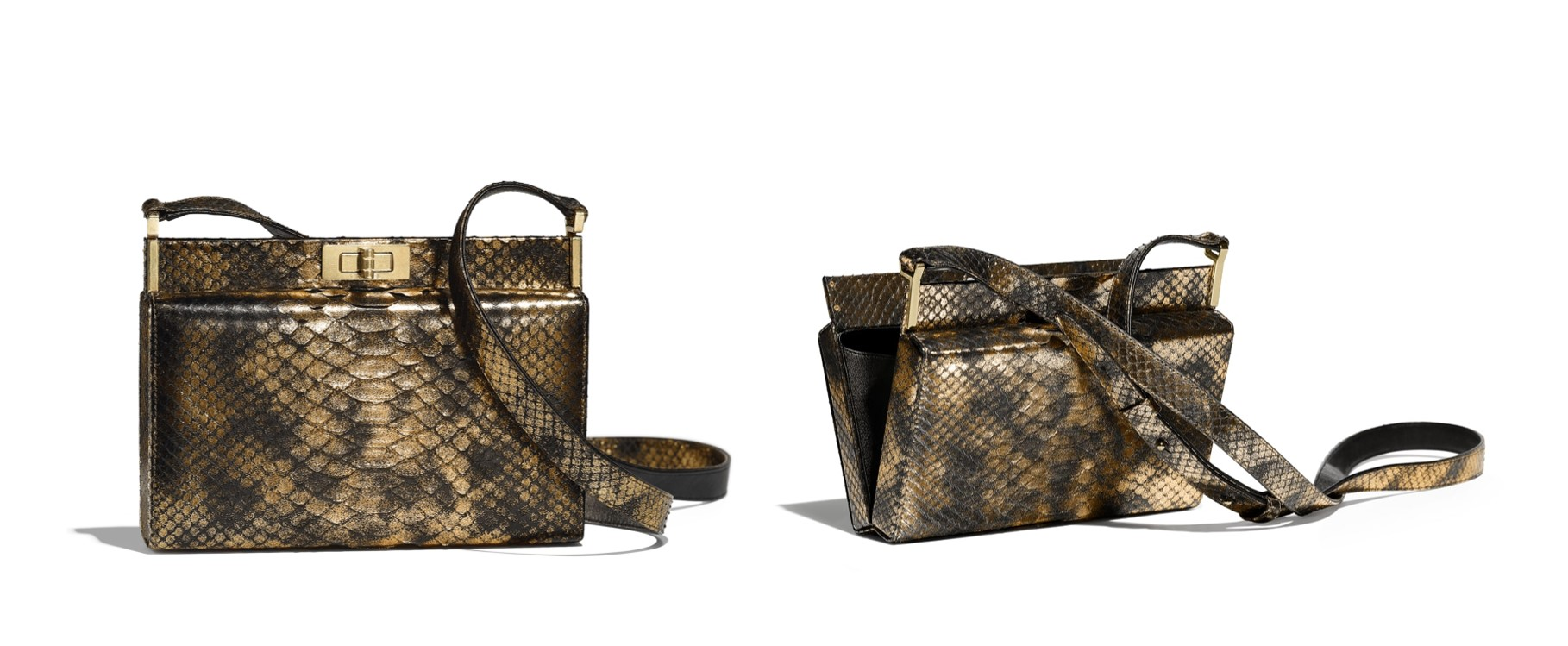 10 best Chanel bags to buy this season python skin clutch
