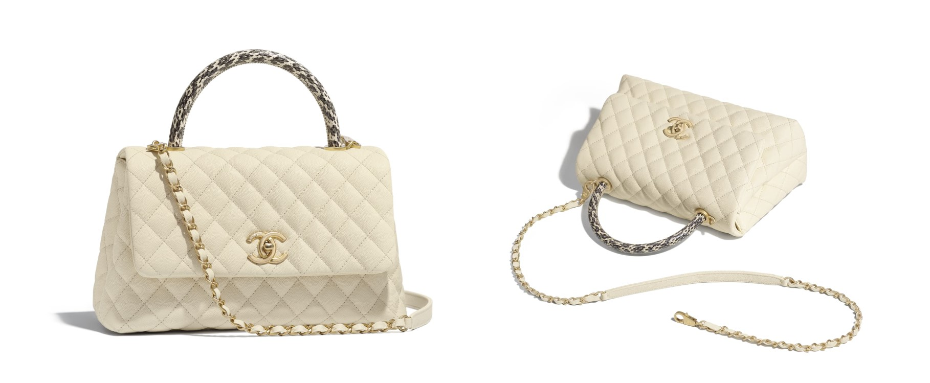 10 Best Chanel bags to buy this season creme flap Chanel top handle flap bag