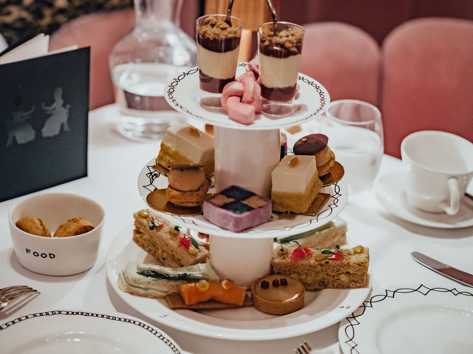 Afternoon tea at Sketch Gallery London