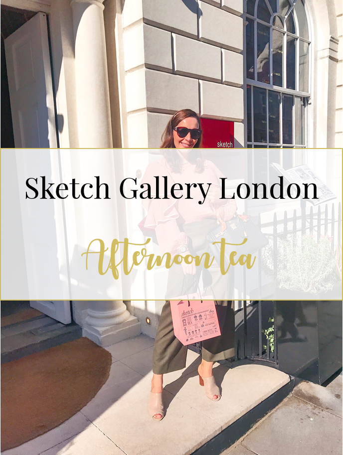 Chic Journal restaurant review Sketch Gallery pink room afternoon tea