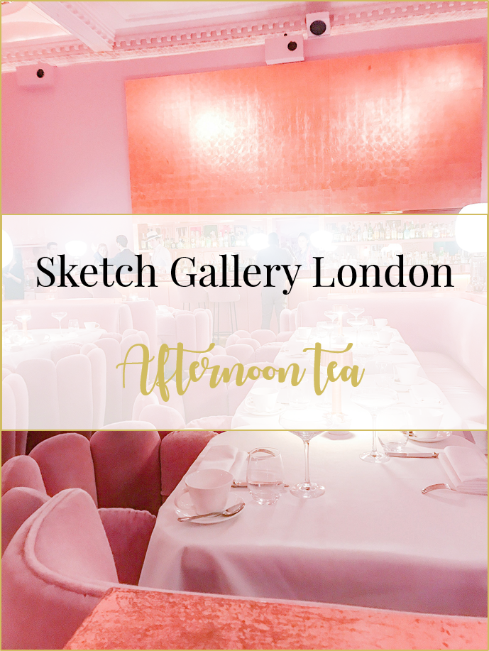 Sketch Gallery pink room afternoon tea
