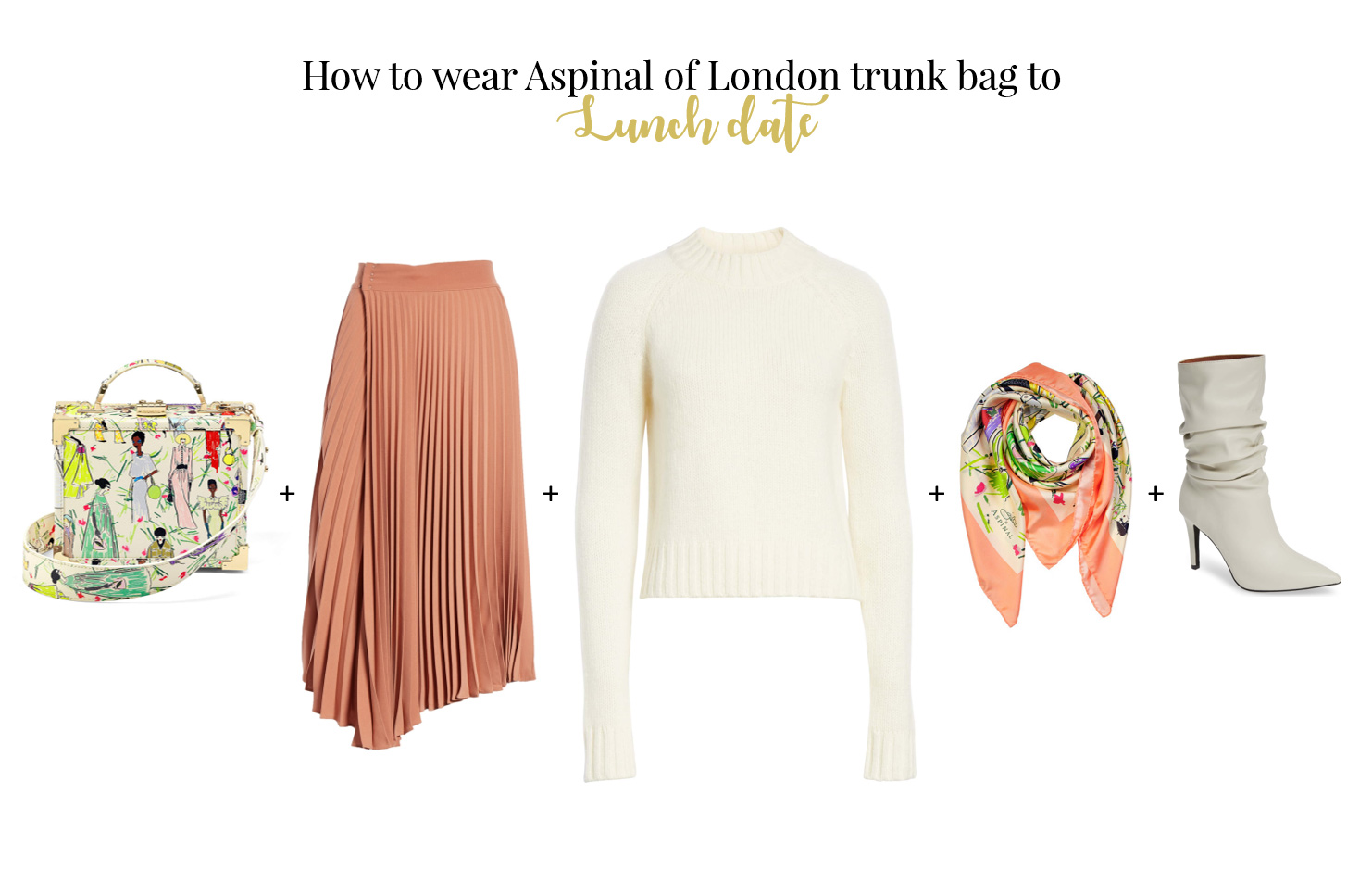 How to wear trunk bag for date Aspinal of London