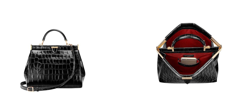 Aspinal of London Florence bag black