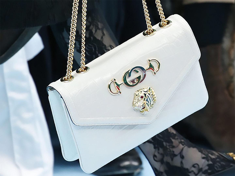 Introducing the new Gucci Rajah bag