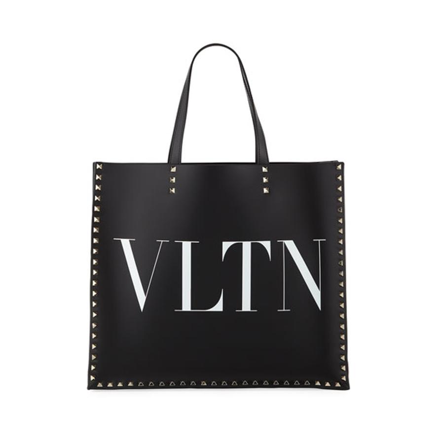 Valentino tote bag black VLTN bag