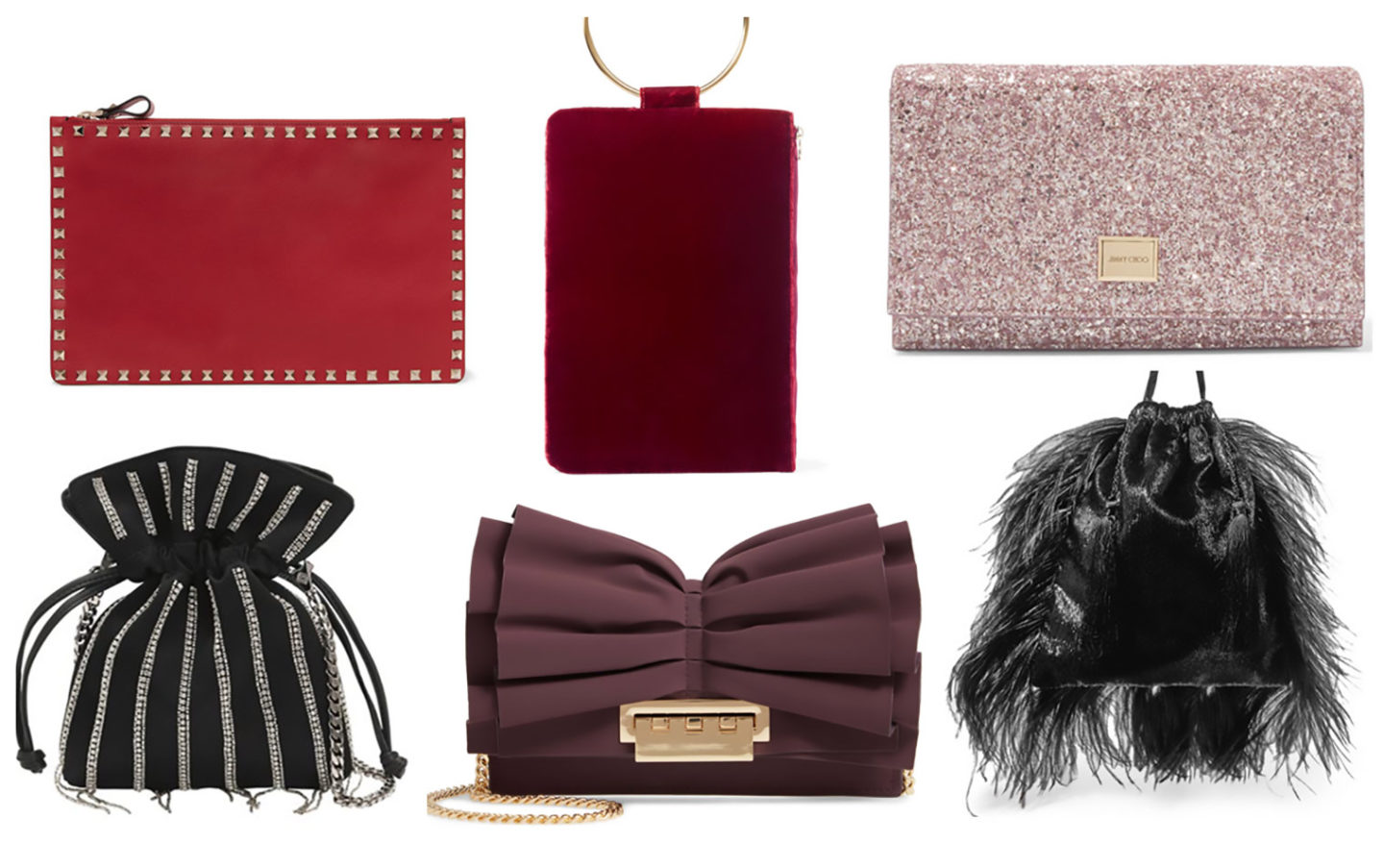 10 best designer party bags that are under £500