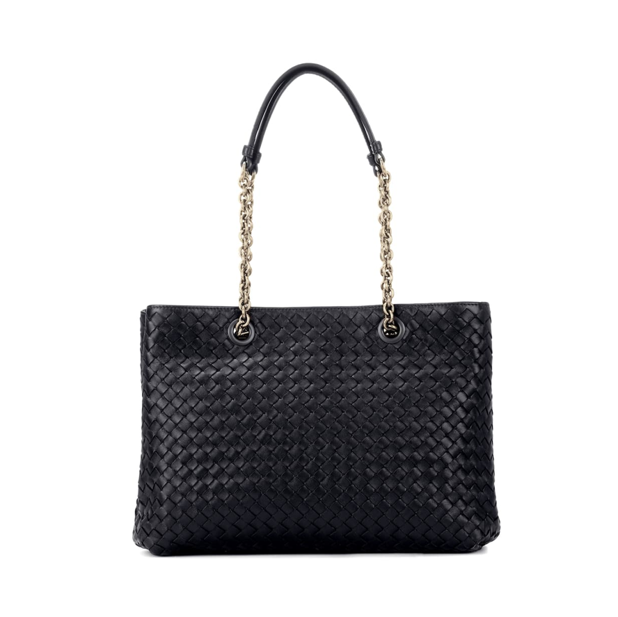 Black Bottega Veneta tote bag