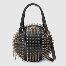 Small Gucci Basketball bag with spikes