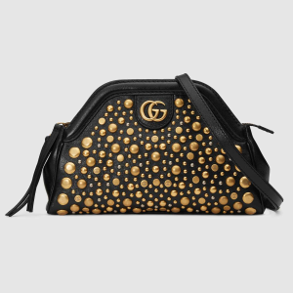 Small Gucci Rebelle bag with studs