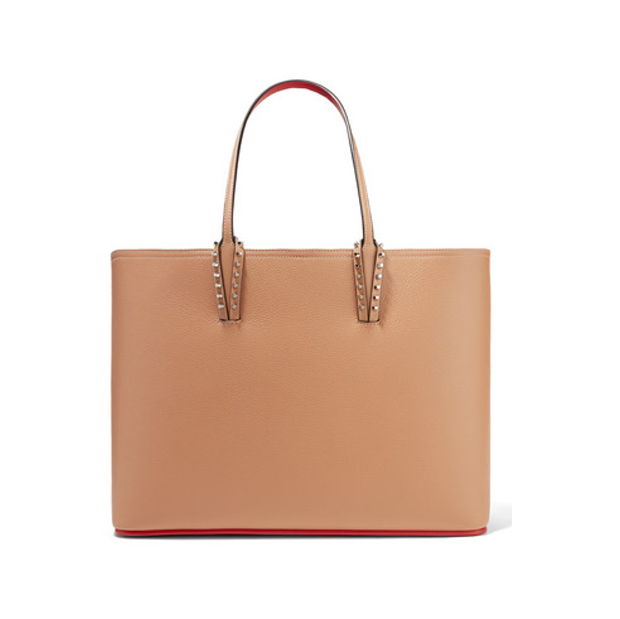 Designer tote bag Christian Louboutin beige bag