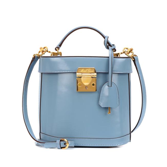 MARK CROSS Benchley leather shoulder bag sale