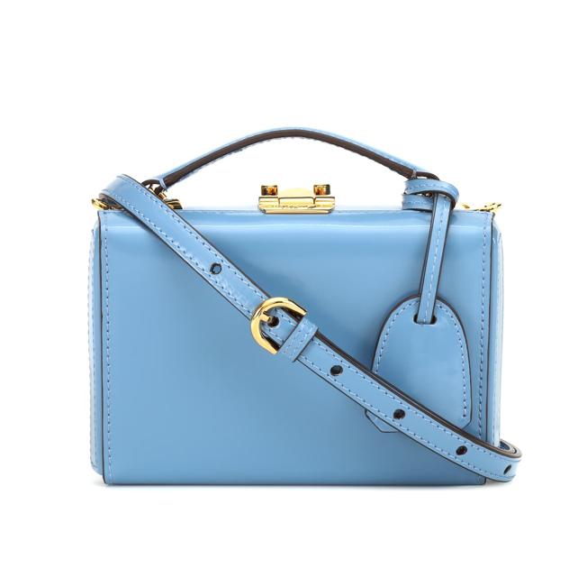 MARK CROSS Grace Mini Box leather shoulder bag