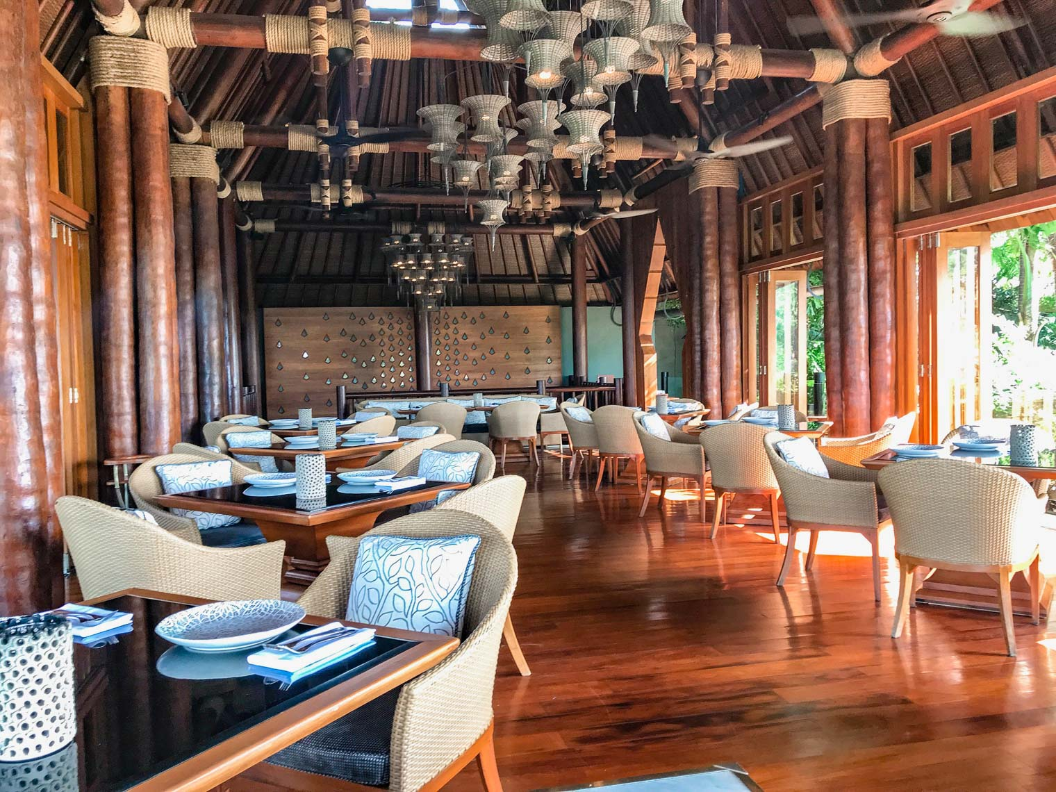 Thai restaurant at Four Seasons hotel Koh Samui